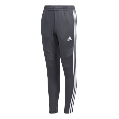 Youth Soccer Tiro 19 Training Pants, Gray/White, swatch