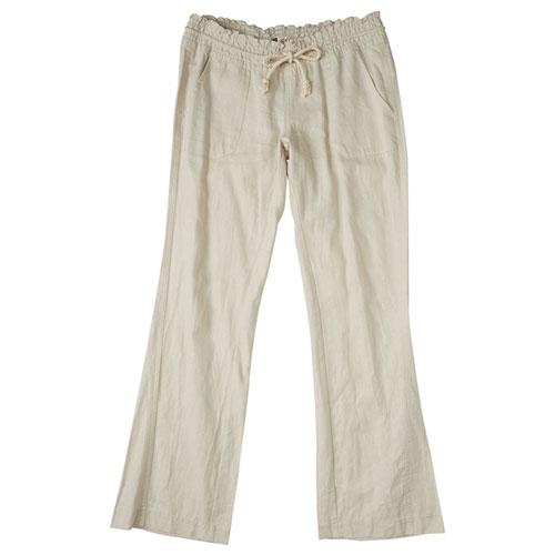 Women's Oceanside Pant, Cream,Natural,Eggshell, swatch