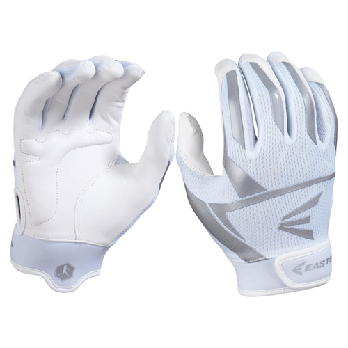 Women's Prowess Batting Gloves, White/Gray, swatch