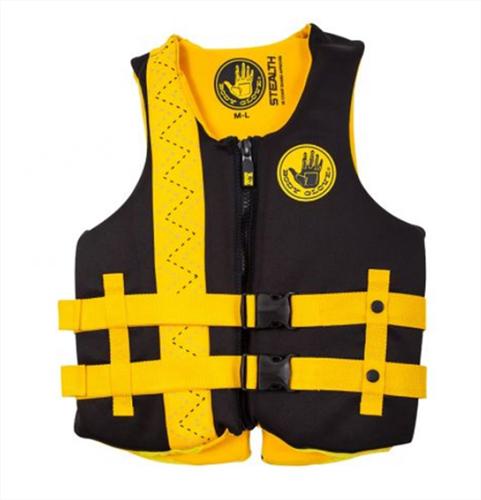 Stealth Neoprene Vest, Black/Gold, swatch
