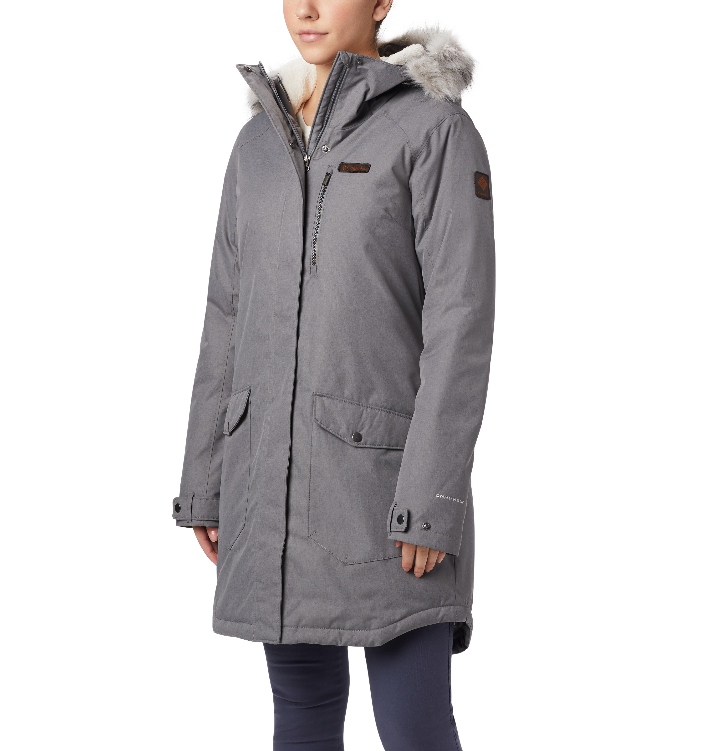 Women's Suttle Mountain Insulated Jacket, Heather Gray, swatch