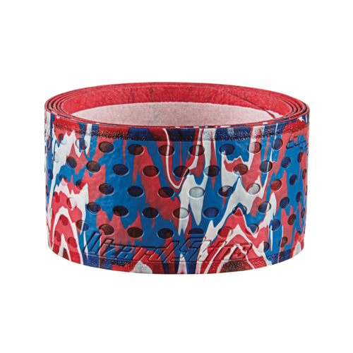 Dura-Soft 1.1mm Camo Bat Grip, Red, White And Blue, swatch