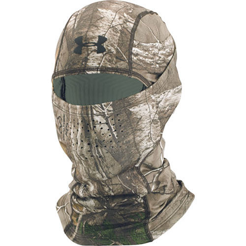 Men's ColdGear Infrared Scent Control Hood, Camouflage Tree Bark, swatch