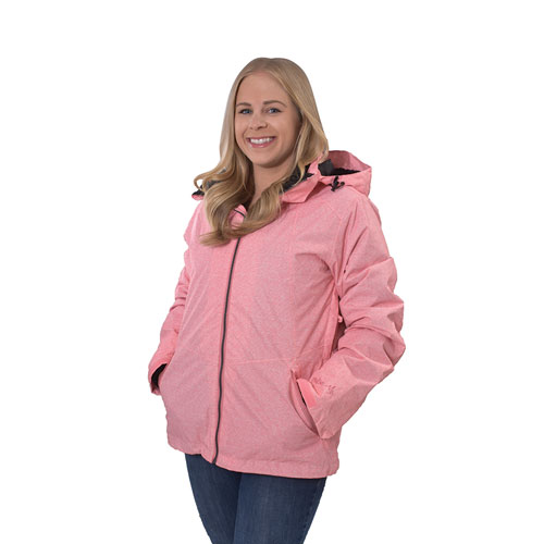 Women's Ivy 3-in-1 Systems Jacket, Pink, swatch