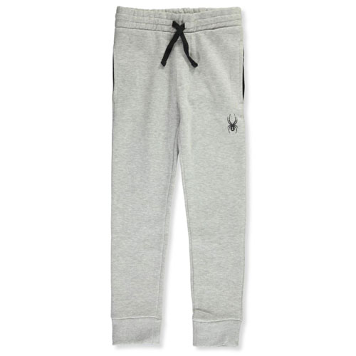 Boy's logo Jogger Size 8-20, Heather Gray, swatch