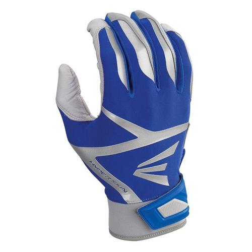 Men's Z7 VRS Hyperskin Batting Gloves, Gray/Royal, swatch