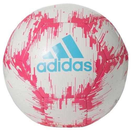 Glider II Soccer Ball, White/Pink, swatch