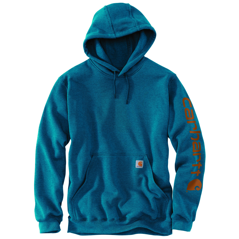 Men's Hooded Sweatshirt, Ocean Blue, swatch