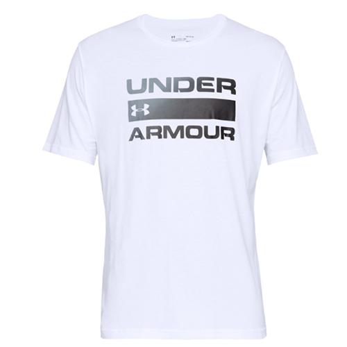 Men's Under Armour Team Issue Wordmark, White, swatch