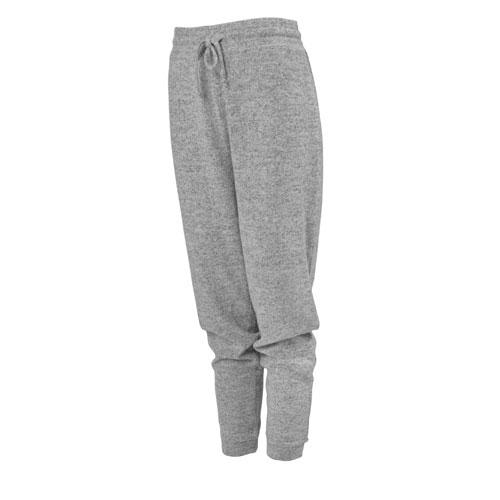 Women's Hacci Jogger Pants, Heather Gray, swatch