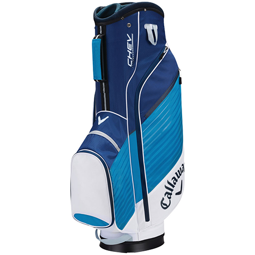 Chev Cart Golf Bag, White/Teal, swatch