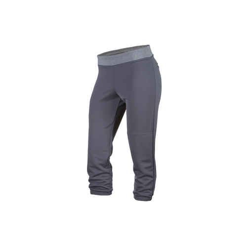Women's Pitch Out Yoga Fast Pitch Pant, Heather Gray, swatch