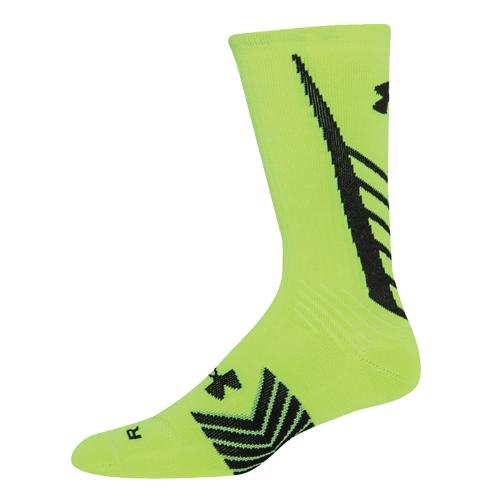 Men's Undeniable All Sport Crew Socks, Yellow/Black, swatch