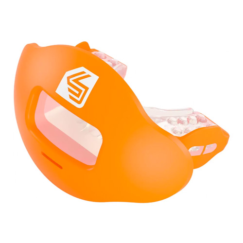 Max Airflow 2.0 Lip Mouthguard, Orange, swatch