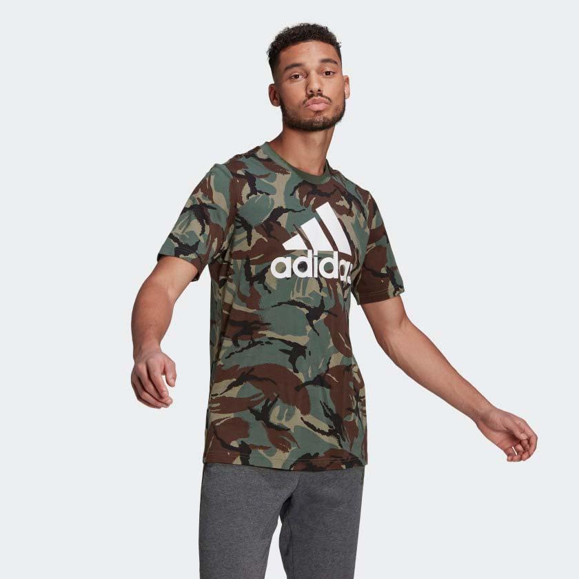 Men's Camo Print T_Shirt, Dkgreen,Moss,Olive,Forest, swatch