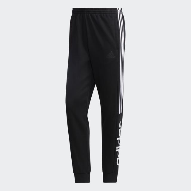 Men's Essentials Colorback Pants, Black/White, swatch