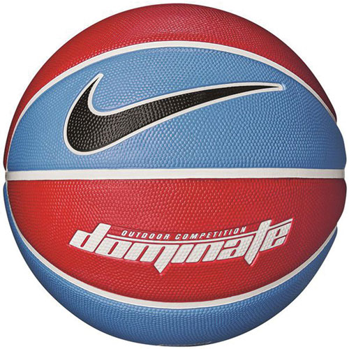 Dominate Official Basketball, Red, White And Blue, swatch