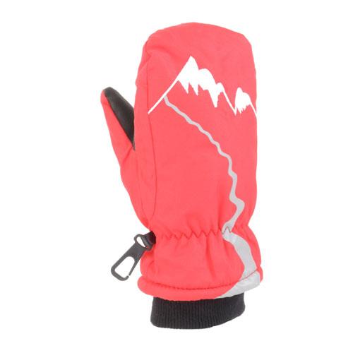 Boys' Waterproof Snow Cuff, Red, swatch
