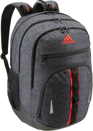 Prime IV Backpack, Charcoal/Red, swatch
