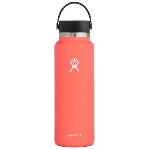 40oz Wide Mouth Stainless Steel Bottle, Coral, swatch