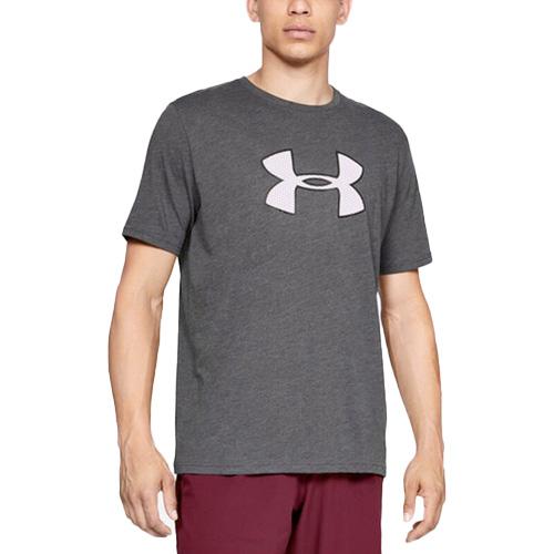 Men's Big Logo T-Shirt, Charcoal,Smoke,Steel, swatch