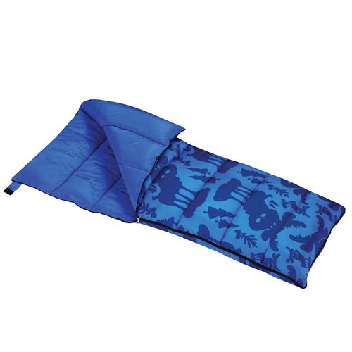 Youth Moose Sleeping Bag, Blue, swatch