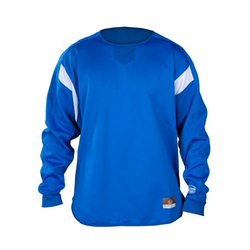 Adult Dugout Pullover, Royal Bl,Sapphire,Marine, swatch