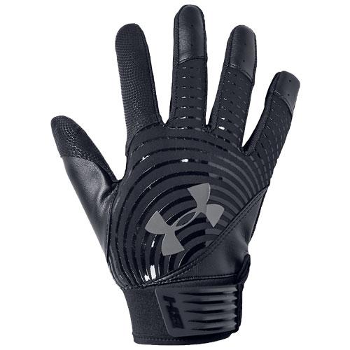 Youth Harper Hustle Batting Gloves, Black/Black, swatch