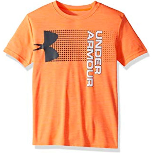Boy's Crossfade Logo T-Shirt, Orange, swatch