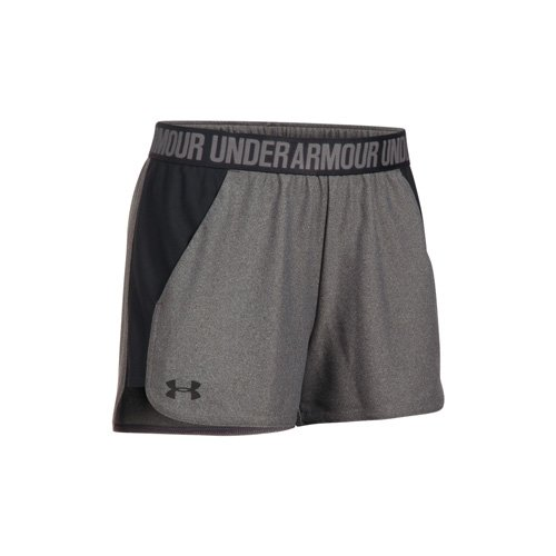 Women's Play Up Shorts, Charcoal,Smoke,Steel, swatch