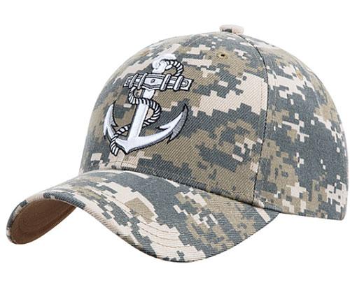 US Navy Cap, Camouflage, swatch