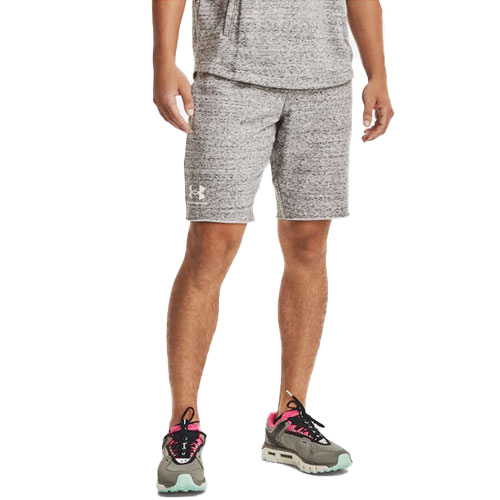 Men's Rival Terry Shorts, Heather Gray, swatch