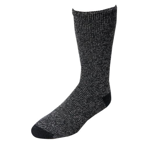 Men's Thermal Socks, Black, swatch
