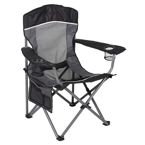 Mesh Big Boy Chair, Black/Gray, swatch