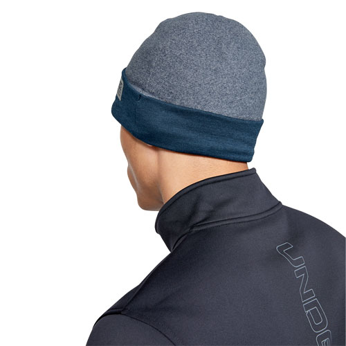 Men's ColdGear Infrared Fleece Ski Hat, Navy, swatch