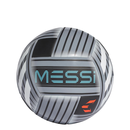 Messi Soccer Ball, Gray/Red, swatch