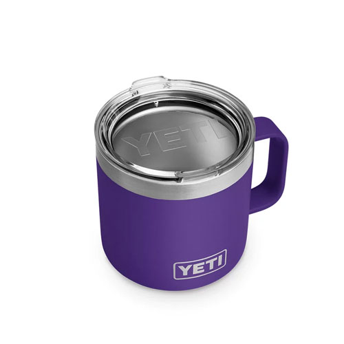 14 Oz. Color Mug, Purple, swatch