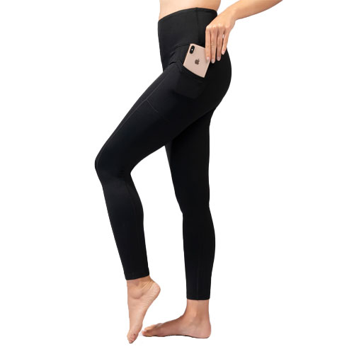 Women's Missy Joggers with Back Pocket, Black, swatch