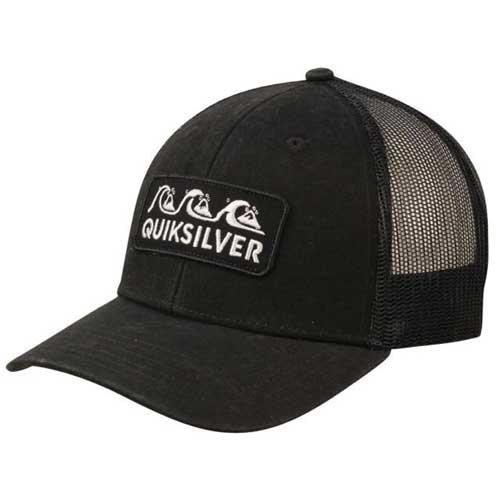 Men's Wharf Beater Trucker Hat, Black, swatch