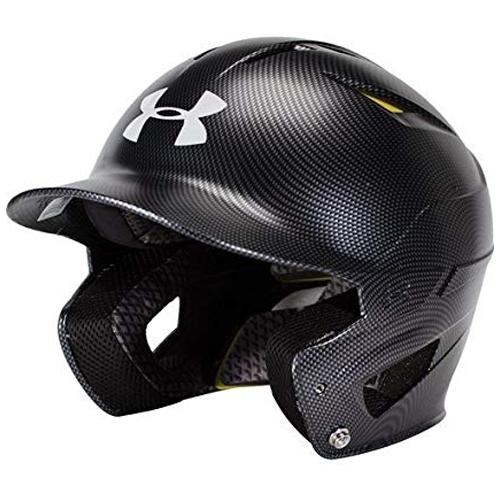 Classic Carbon Batting Helmet, Black, swatch