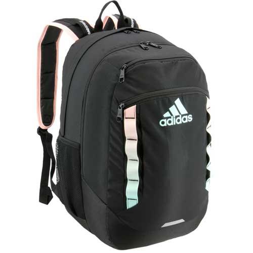 Excel V Backpack, Black/Teal, swatch