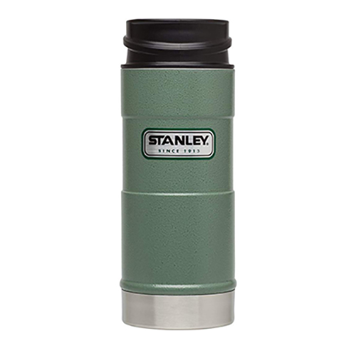 16 OZ One Hand Vacuum Mug, Green, swatch
