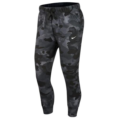 Women's Dri-FIT Rebel Fleece 7/8 Training Pants, Black, swatch