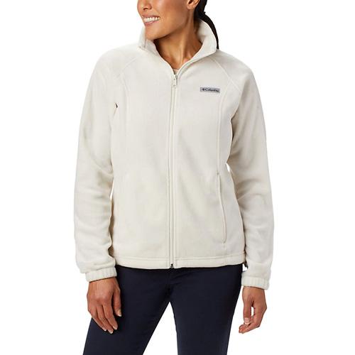 Women's Benton Springs Full Zip Fleece Jacket, Ivory,Bone,Winter White, swatch