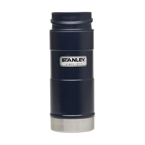 16 OZ One Hand Vacuum Mug, Navy, swatch