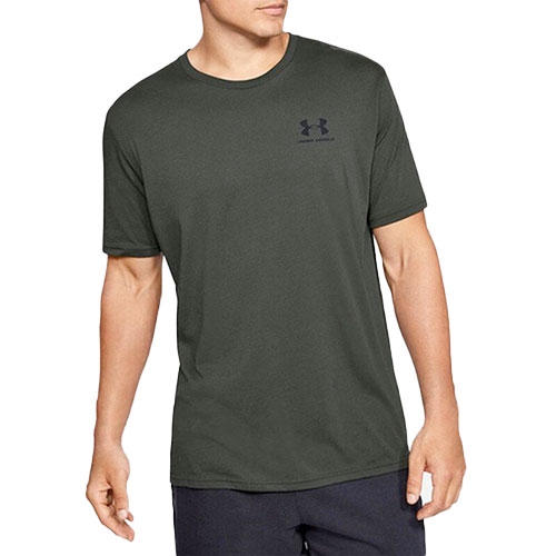 Men's Sportstyle Left Chest Short Sleeve T-Shirt, Dkgreen,Moss,Olive,Forest, swatch