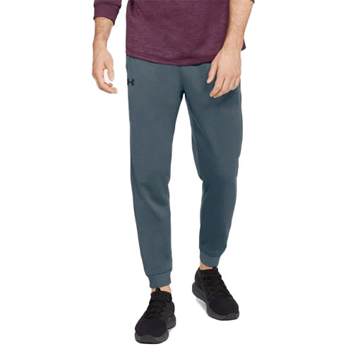Men's Armour Fleece Jogger Pant, Charcoal,Smoke,Steel, swatch