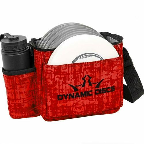 Cadet Starter Disc Golf Bag, Red/Black, swatch
