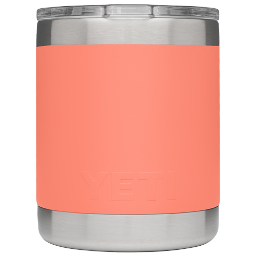 10oz Lowball, Coral, swatch