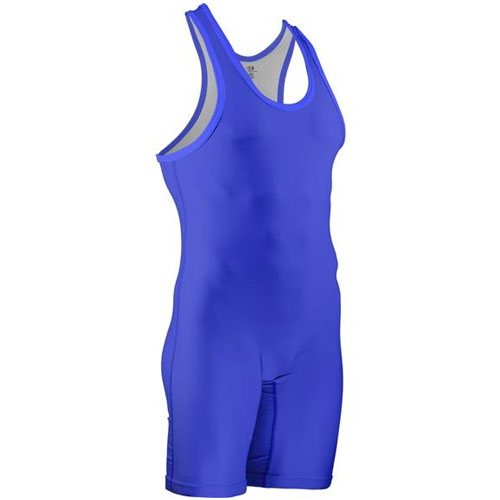 Historic Eagle Branded Stock Sublimated Singlet, Royal Bl,Sapphire,Marine, swatch